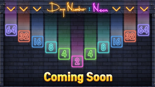 Drop Number : Neon 2048 1.0.2 screenshots 1