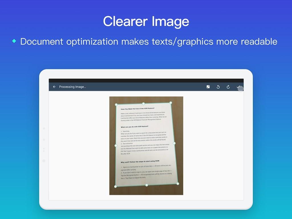 CamScanner - Scanner to scan PDF  poster 8