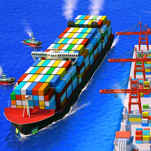 Sea port: Ship Simulator & Strategy Tycoon Game