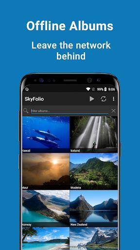 Download APK: SkyFolio – OneDrive Photos, Uploads and Slideshows v3.1.1 [Paid]