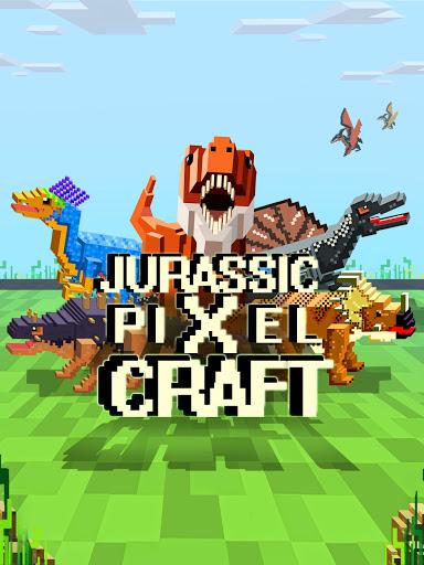 Jurassic Pixel Craft: dino age  screenshots 1