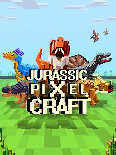 Jurassic Pixel Craft: dino age 12.81 screenshots 1