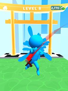 Sword Play! Ninja Slice Runner 3D Mod Apk (Unlimited Unlocked Items) 9