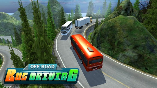 Hill Station Bus Driving Game [MOD Version] 2