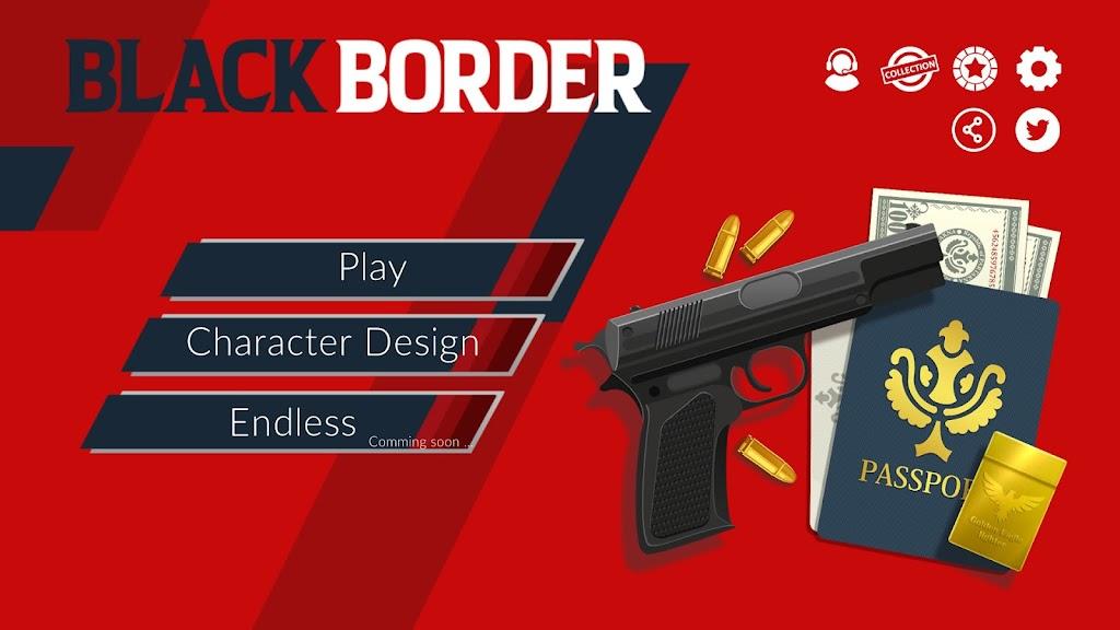 Black Border: Border Patrol Simulator Game poster 1