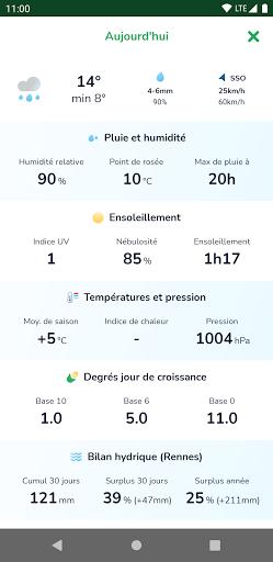 La mu00e9tu00e9o agricole 1.3.0 Screenshots 4