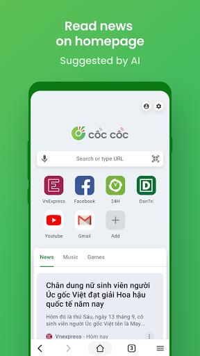 Cu1ed1c Cu1ed1c Browser - Fast, Secure & Convenient apktram screenshots 5