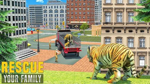 Virtual Tiger Family Simulator: Wild Tiger Games android2mod screenshots 10