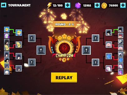 Stickman Shinobi : Ninja Fighting MOD APK 2.0 (Unlimited Gold, Diamond, Energy, No Ads) 10