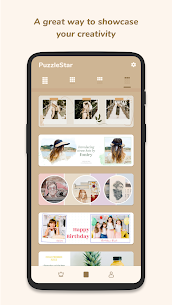 Puzzle Collage Template for Instagram PuzzleStar Mod Apk (PRO Unlocked) 4