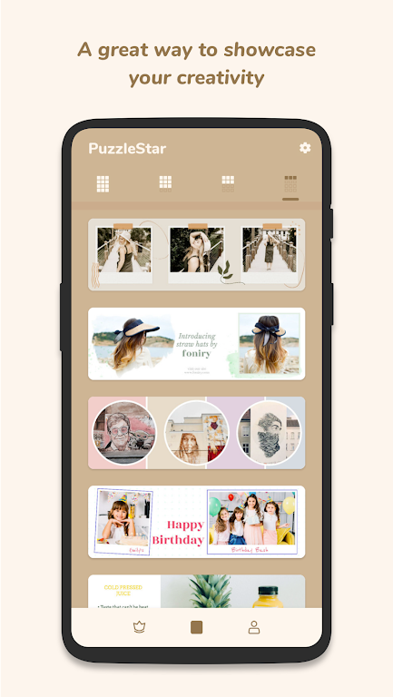 Puzzle Collage Template for Instagram - PuzzleStar  poster 3