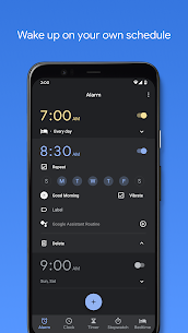 Google Clock APK v6.4 (361440548) is Here ! [Latest] 1