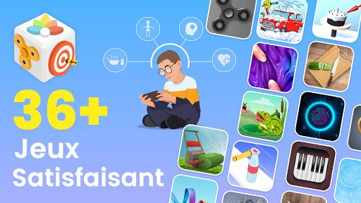 Code Triche Anti Stress - Jeux Satisfaisant et Relaxant APK MOD (Astuce) screenshots 1