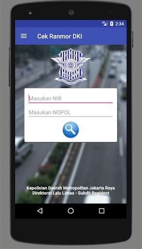 Cek Ranmor & Pajak DKI Jakarta 1.028 Screenshots 2