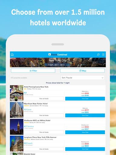 Hotels Combined - Cheap deals screenshots 13