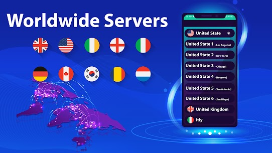 VPN Pro: Super VPN Fast Proxy Servers For Android 4
