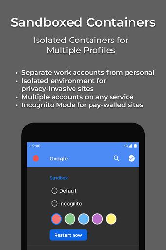 Hermit u2022 Lite Apps Browser 18.4.1 Screenshots 2