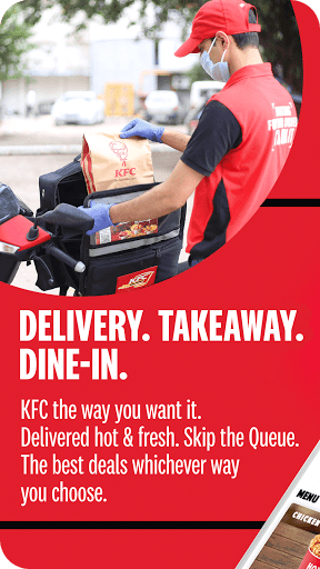 KFC Online Order and Food Delivery 5.2 Screenshots 1
