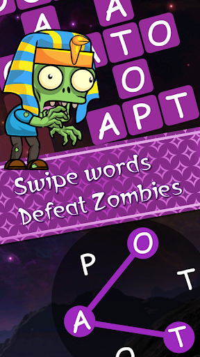 Words vs Zombies - fun word puzzle game apkmr screenshots 1