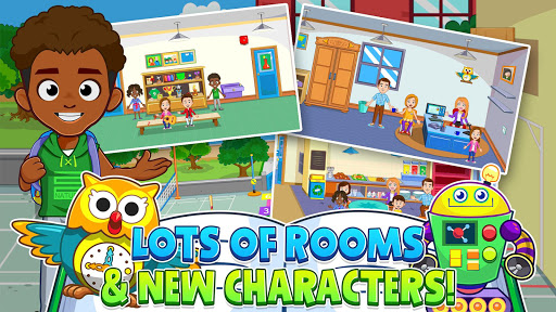 🏫 My Town : Play School for Kids Free 🏫  screenshots 17