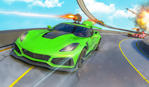 Jet Car Stunts Racing Car Game 3.6 screenshots 13
