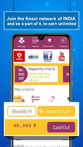 PrimeCash PRO Games, ViralNews, Coupons & Shopping apktram screenshots 7