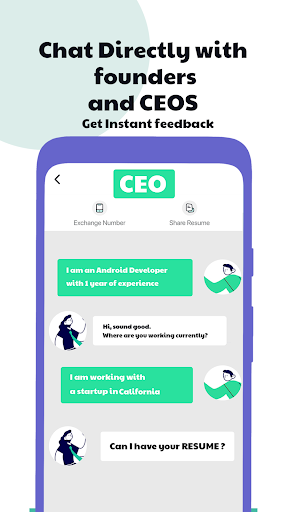 Hirect: Chat Based Job Search apktram screenshots 1