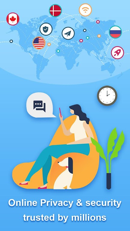 Speedy Quark VPN - Fast Servers & Secure Proxy  poster 4