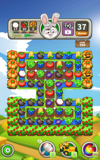 Farm Raid : Cartoon Match 3 Puzzle  screenshots 13