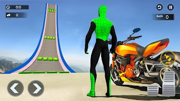 Mega Ramp Bike GT Racing 3D: Bike Stunt Games 2021