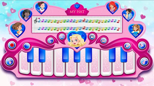 pink real piano - princess piano screenshot 1