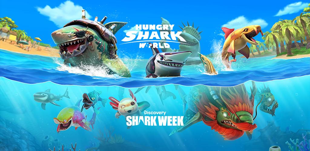 Hungry Shark World poster 0