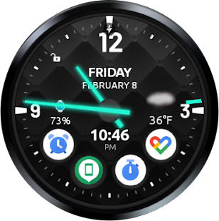 Ultra Watch Face Screenshot