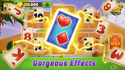 Solitaire TriPeaks Adventure - Free Card Game  screenshots 2