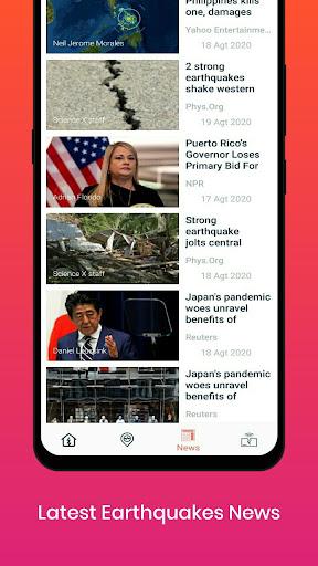 Earthquake Alerts 1.0.4 Screenshots 5