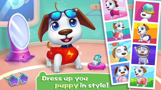 🐶🐶Space Puppy - Feeding & Raising Game apktreat screenshots 2