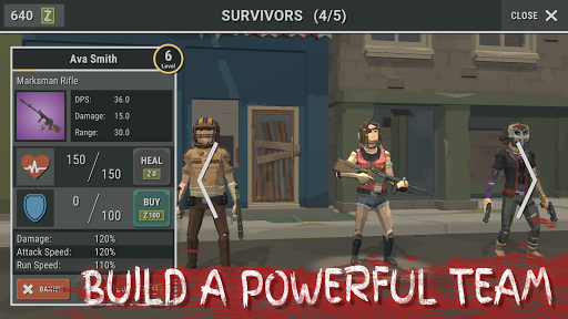 Overrun: Zombie Horde Apocalypse Survival TD Game apkpoly screenshots 6