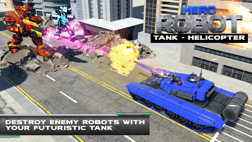Tank Robot Transform Wars - Multi Robot Game  screenshots 4