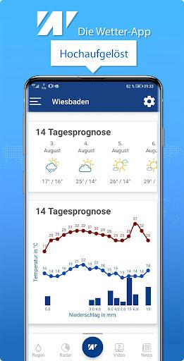 Wetter.net u2013 dein Wetter mit Regenradar 2.6 Screenshots 3