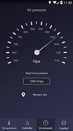 Thermometer - Hygrometer & Ambient Temperature app 1.9 Screenshots 3