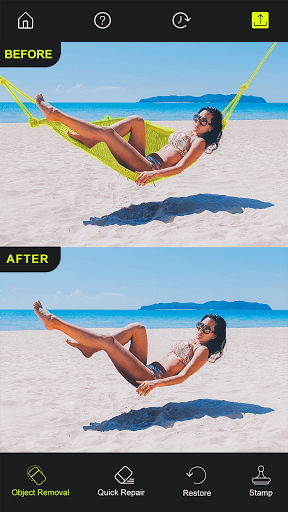Photo Retouch - AI Remove Objects, Touch & Retouch 2.0 Screenshots 1