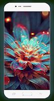 Abstract Flower Wallpaper