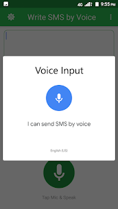 Write SMS by Voice – Voice Typing Keyboard v2.2 (PRO) MOD APK 2