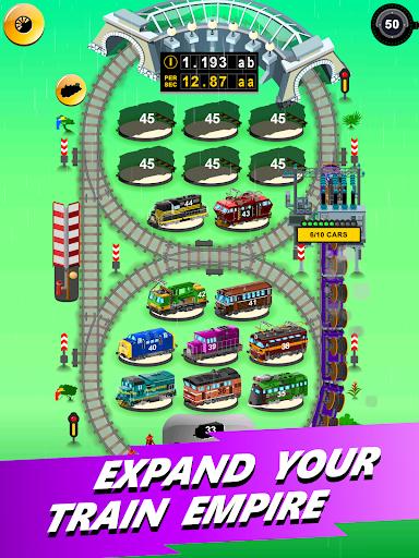 Train Merger - Idle Manager Tycoon apktram screenshots 10