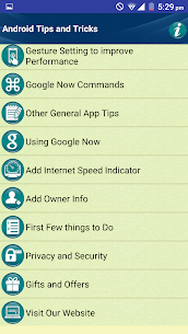 Tips Tricks for Android Phones 2.3 Mod APK (Unlock All) 2