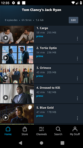 Amazon Prime Video  screen 2