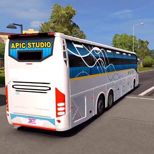 Baixar City Coach Bus Driving Sim : Bus Games 2020 para Android