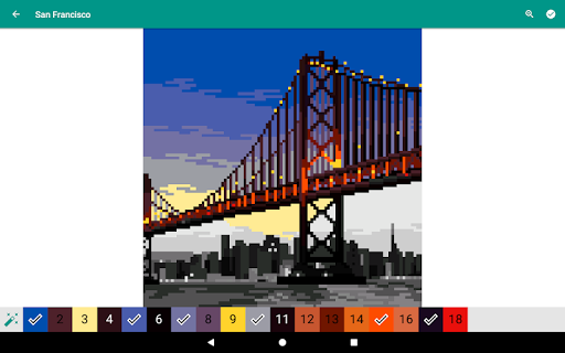 Pixies Pixel Art - Coloring book, Color by Number  screenshots 14