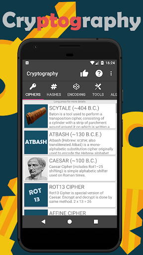 Cryptography - Collection of ciphers and hashes