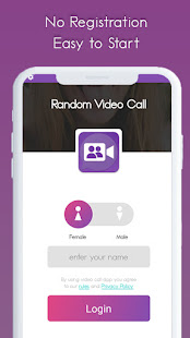 Random Video Call - Girls Random Video Chat 1.1.7 screenshots 1